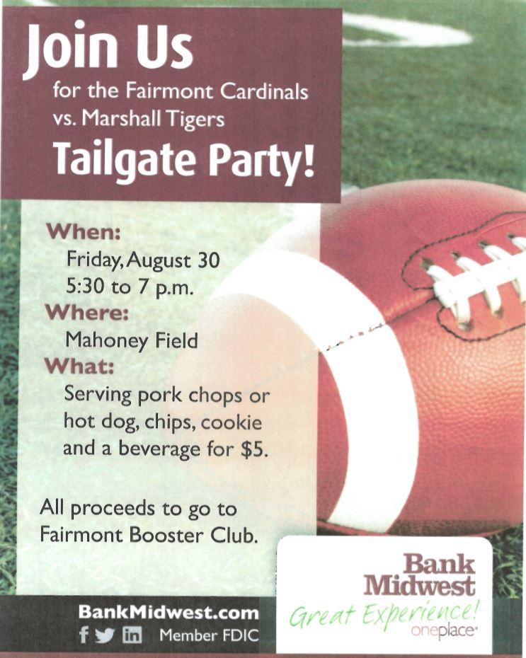 Bank Midwest Tailgate Party