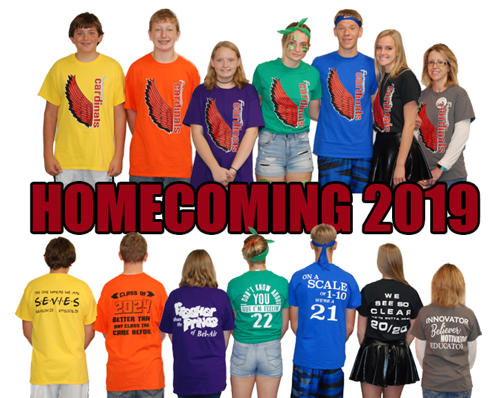 2019 Homecoming Class Color Day