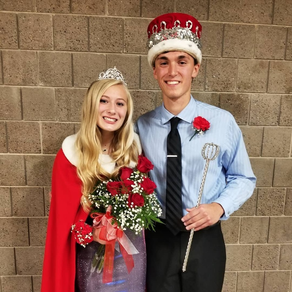 Queen Macey Bearson & King Dan Betts