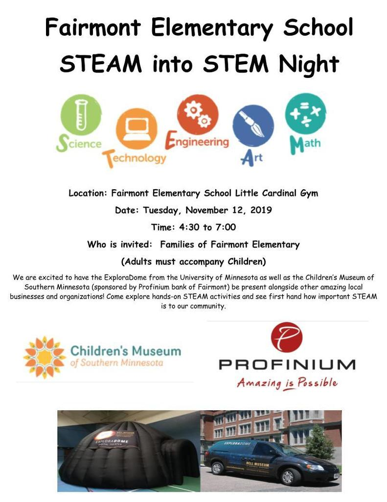 STEAM into STEM Night
