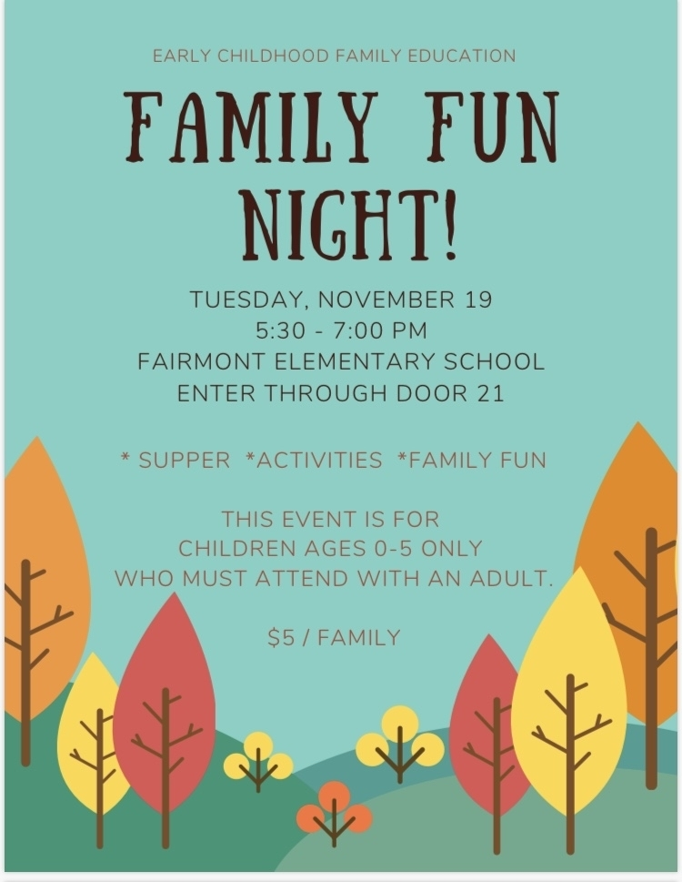 November Family Fun Night