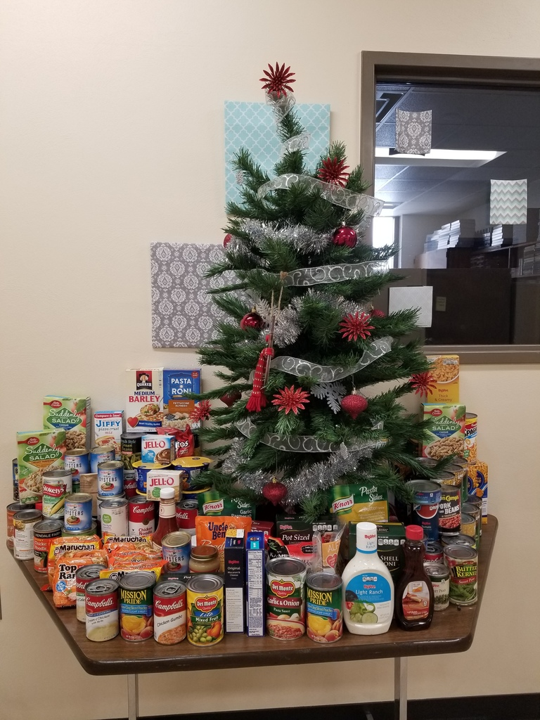 Student Council's Annual Food Drive